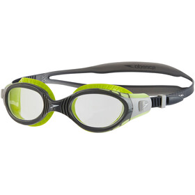 speedo Futura Biofuse Flexiseal Goggle Lime/USA Charcoal/Clear